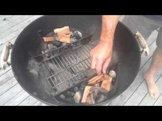 How to hot smoke salmon with a weber kettle bbq - YouTube