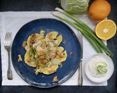 Poulet sauce hoisin Sauce Hoisin, Menu, Curry, Orange, Ethnic Recipes, Food, Sprouts, Chicken, Seasonal Recipe
