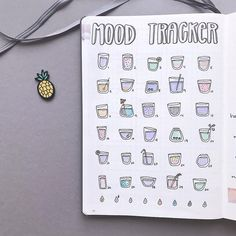 need a creative way to track habits and moods in your bullet journal? Well have a look at these amazing mood tracker ideas for bullet journal
