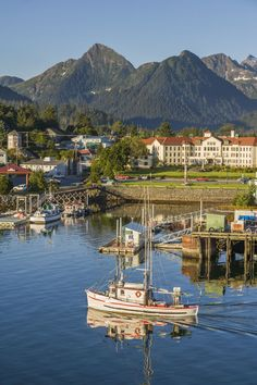 Sitka, Alaska - Don't forget your boat — this small coastal port is only accessible only by air or sea.