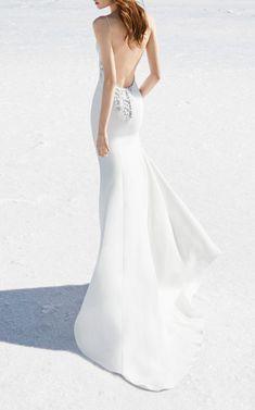 Beautiful mermaid style dress! Alex Perry Bride Sophia Bikini Embellished Gown #wedding #Inspiration #affiliate