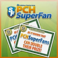Publishers Clearing House - Google+--PCH SuperFan #1 That's Me (Smiles)