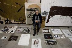 El estudio de Barcelona donde Antoni Tàpies realizaba sus obras