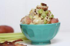 Potato salad with no mayo. Perfect for outdoor summer picnics.