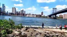 Walking Through Brooklyn Bridge Park in the Summer