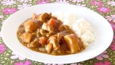 Create Eat Happy :): How to Make Basic Curry Rice (Vermont Curry) - Video Recipe
