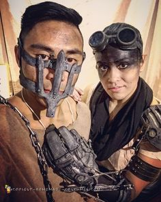 Mad Max and Imperator Furiosa with Bionic Arm Costume  sc 1 st  Pinterest & People Are Already Cosplaying Furiosa From