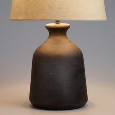 One of my favorite discoveries at WorldMarket.com: Black Terracotta Table Lamp…