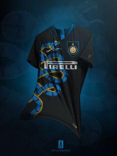 GK Inter Snake 110 - with crest Soccer Kits, Football Kits, Football Is Life, Football Shirt Designs, Football Design, Soccer Uniforms, Team Uniforms, Sports Jersey Design, Jersey Designs
