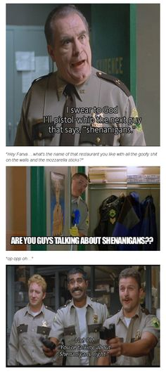 Super Troopers Shenanigans ..Not how it goes but it's still funny