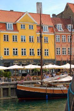 Canals of Copenhagen, Denmark. (by Devonaire Eye)