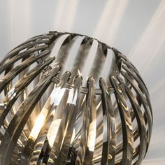 Lámpara de mesa DISCO ahumado
