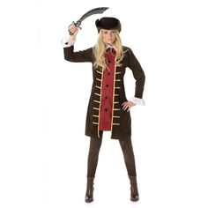 Piratenkapitein Kostuum Dames