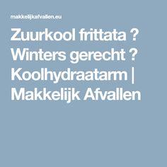 Zuurkool frittata ✔ Winters gerecht ✔ Koolhydraatarm   Makkelijk Afvallen