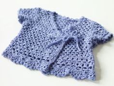 Crochet Child's Top free pattern from Lion Brand