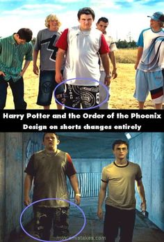Top 15 biggest Harry Potter film mistakes (I must guess that Dudley wet his pants in the presense of dementors and was forced to change them)