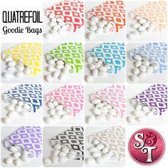 Sweets & Treats: Quatrefoil Goodie Bags