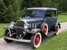 1932 Chevrolet Confederate Sedan.