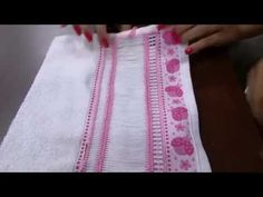 Mulher.com 27/10/2014 - Bainha Aberta Toalho de Rosto por Bete Alves - Parte 1 - YouTube