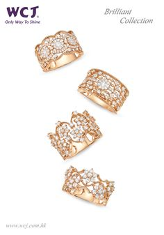 WCJ International Limited Booth No.: 1C502 Brilliant Collection #WCJ #Jewelry…