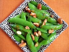 Sauteed Almonds with Snow Peas | Recipes | PKD Health Notes | PKD Health Notes