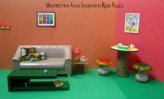 1/6th Scale Miniature Dollhouse Coffee by MiniaturesfromAvalon