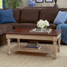 Found it at Wayfair - Classic Two Tone Coffee Table