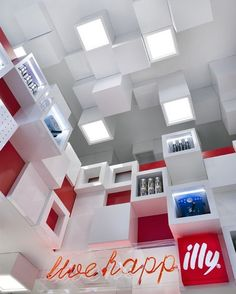 An Illy shop in Milan - what a great place to buy coffee!