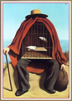 """artist-magritte: """"The therapeutist by Rene Magritte"""