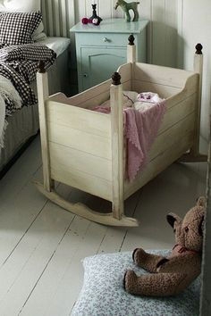 Nursery: Modern Design Baby Crib With Changing Table . Unique Crib And Cradle Ideas The Owner Builder Network. DIY Moon Shaped Cradle The Owner Builder Network. Home and Family Nursery Room, Kids Bedroom, Baby Room, Wooden Cribs, Baby Bassinet, Bassinet Ideas, Wood Bassinet, Baby Crib Diy, Baby Beds