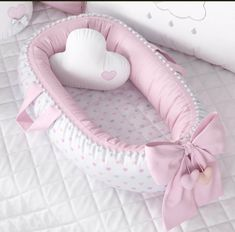 Removable Mattress Double-sided Baby Nest for newborn The Babys, Baby Doll Bed, Baby Dolls, Cloud Cushion, Baby Sewing, Baby Accessories, Future Baby, Baby Items, Baby Quilts
