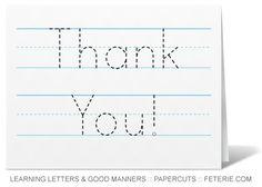 thank you card idea Handwriting_TY_LR-jpg Thank You Cards From Kids, Thank You Notes, Kids Cards, Thank You Gifts, Kindergarten Crafts, Kindergarten Writing, Literacy, Preschool, Teacher Appreciation Week