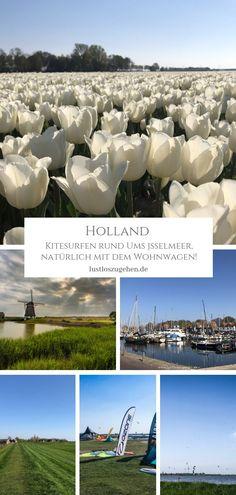 Camping am Ijsselmeer? Unbedingt! Du hast Lust auf einen Roadtrip? Na, dann zum kiten & campen nach Holland. Ich zeige Dir die schönsten Kitespots!