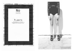 NO PLASTIC PLANTS  Photographer: Kent.Andreasen  Make-up & Styling: Roxanne Wentworth  Model: Caitlin Hoogervorst - Boss Models  http://www.afashionfriend.co.za/issue/aff-issue-14/plants
