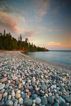 Lake Superior Provincial Park, Ontario, Canada - This looks like the beach from the Orphan Lake and equivalent of 31 flights of stairs in elevation :) Great days! Landscape Photography, Nature Photography, Travel Photography, Lake Superior, Lake Beach, Seen, Great Lakes, Banff, Canada Travel