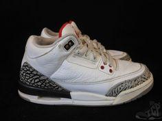 Vtg OG 2010 Nike Air Jordan III 3 s sz 4y IV Cement Retro Mars 88 0ce3ca6fc
