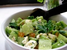 Perfect time of year to enjoy salads! Can be made up for a bridal brunch.