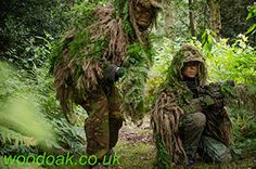 Careful the enemy is up ahead! Sniper Experience at Woodoak Wilderness, Surrey, England UK www.woodoak.co.uk
