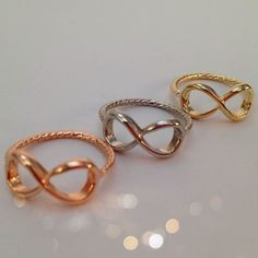 I LOVE infinity rings!!