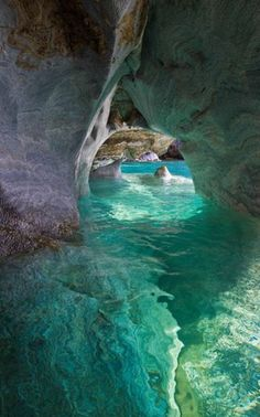 Marble Cathedral / Patagonia, Chile