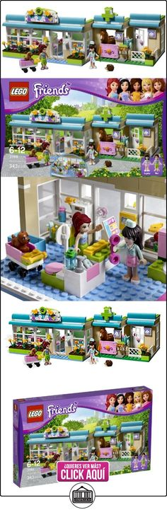 LEGO Friends Heartlake Vet 343pieza(s) juego de construcción - juegos de construcción (6 año(s), 343 pieza(s), Chica, 12 año(s), Multicolor, 32 cm) ✿ Lego - el surtido más amplio ✿ ▬► Ver oferta: https://comprar.io/goto/B005VPRETY