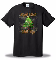 Light-That-S-Up-Christmas-Tree-Holiday-T-Shirt-Party-Santa-Merry-Humor-Fun