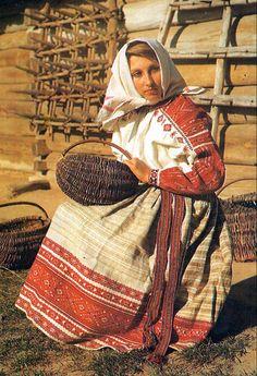 Costume of western Podillia, Ukraine