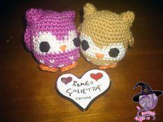 Owl amigurumi.   A commission of San Valentine