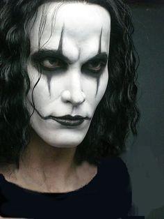 Afbeeldingsresultaat voor the crow brandon lee makeup