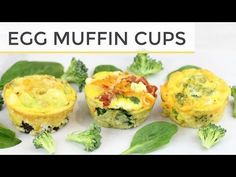 3 Healthy Egg Muffin Cup - Meal Prep Recipes | Easy Healthy Breakfast Ideas - YouTube