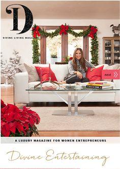 Divine Living Magazine Week 3 - December 18, 2015  http://www.divineliving.com/magazine/december-18-2015/
