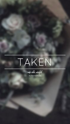 Taken • Up All Night Lockscreen — ctto: @stylinsonphones