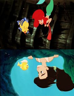 the little mermaid 1 & 2: parallels | breaking the rules