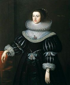 ca. 1627-1628 Ann Cotton by ? (Colchester and Ipswich Museums Service, specific location unknown to gogm) | Grand Ladies | gogm